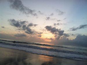 Indialantic Beach at sunrise