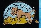 pinned you again